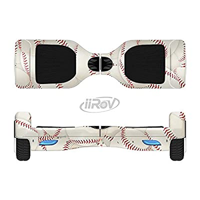 Design Skinz The Baseball Overlay Full-Body Wrap Skin Kit for The iiRov HoverBoards and Other Scooter (Hoverboard NOT Included) : Sports & Outdoors