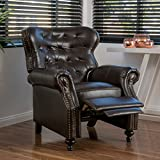 Waldo Brown Leather Recliner Club Chair - Best Reviews Guide