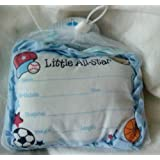 Little All-Star Birth Announcement Door Pillow with...