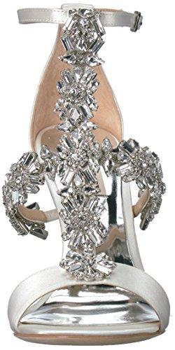Sandal Badgley Women's Heeled Munroe Mischka White aIqA7