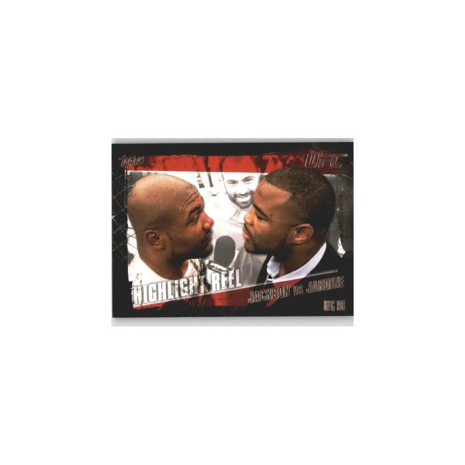 2010 Topps UFC Trading Card # 192 Quinton Jackson vs Keith
