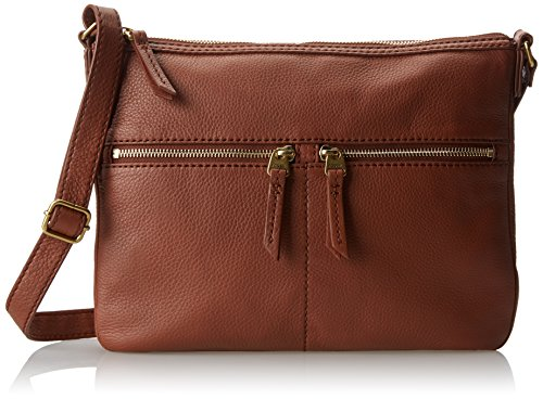 Fossil Erin Crossbody, Brown, One Size by Fossil