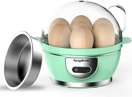 R&Y cocedor Huevos Cocina eléctrica para Huevos, Huevo cocido ...