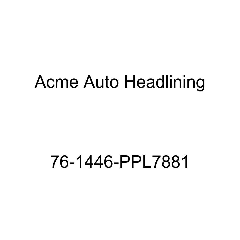 Acme Auto Headlining 76-1446-PPL7881 Carmine Replacement Headliner 1976 Chevrolet Malibu 4 Door Hardtop 5 Bow