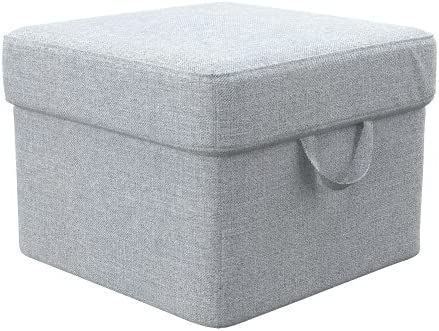 Soferia - IKEA TOMELILLA Funda para reposapiés, Naturel Light Grey ...
