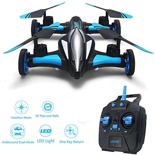 MY-COSE Drone Remoto, avión giroscópico de 6 Ejes terrestre/aéreo ...