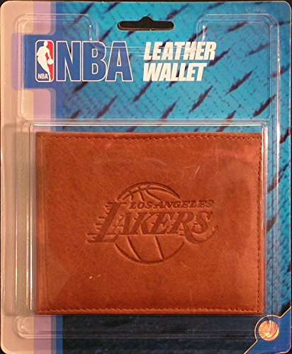 Rico NBA Los Angeles Lakers Embossed Leather Billfold Wallet with Man Made Interior