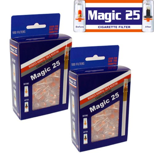 - 2 x MAGIC25 100FILTERS VALUE PACK
