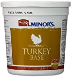 Minor's Turkey Base No Gluten, No Added MSG 16 Ounce