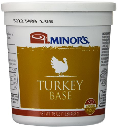 Minor's Turkey Base No Gluten, No Added MSG 16 Ounce ()