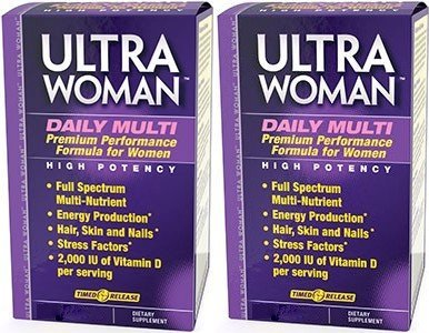 Vitamin World Ultra Woman Daily Multi Vitamin 2 Pack each of 90 Caplets