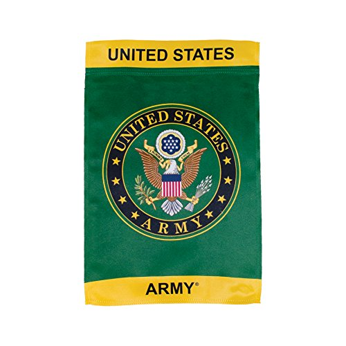 In the Breeze U.S. Army Symbol Lustre Garden Flag - Double S