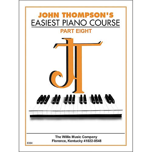 John Thompson's Easiest Piano Course Part 8 Pack of 3