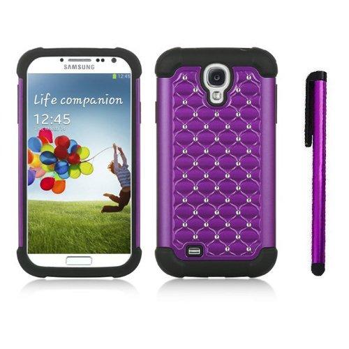 Leegoal Purple Xshield Rhinestone Samsung