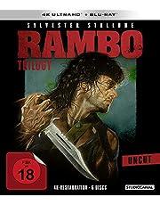 Rambo Trilogy-Uncut (6 Blu-Ray) [Edizione: Germania]