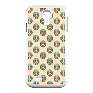 Samsung Galaxy S4 9500 Cell Phone Case White World At Peace BNY_6981227