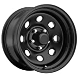 Trailmaster TM9-5866 TM9 Steel Wheel; Size 15X8 ;Bolt Pattern: 5x4.5 ;Back Space 4.25 in.; Finish Gloss Black;