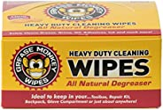 Grease Monkey Individual Heavy-Duty Cleaning Wipes, 24-Count
