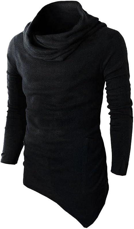 Men/'s Spring Slim Fit Hoodie Long Sleeve Muscle Tee T-shirt Casual Tops Blouse