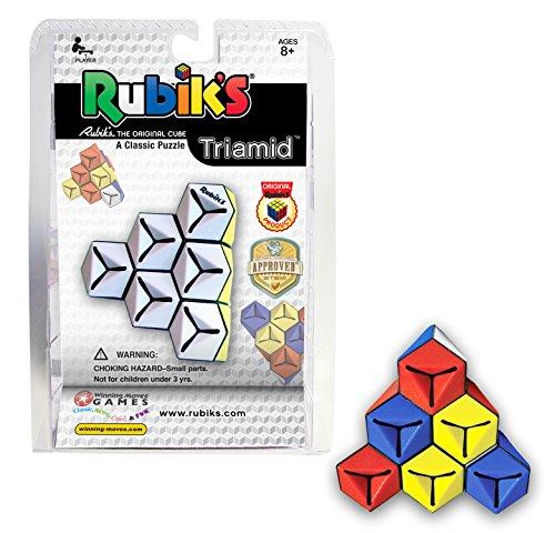 Winning Moves TRIAMID A triangular Rubik's Puzzle