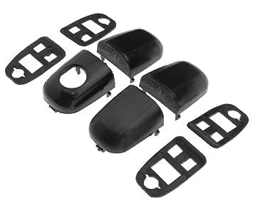 Micro Trader - Par de embellecedores Autoacc600 para extremos de manillas con juntas: Amazon.es: Coche y moto