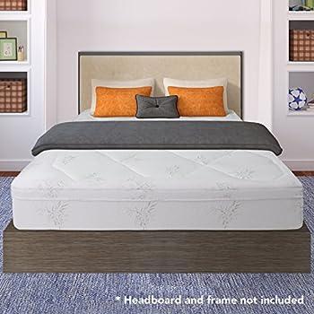 Amazon Com Crown Comfort 12 Inch Grand Memory Foam