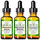 Anti Aging Serum 3-Pack for Face - Vitamin C