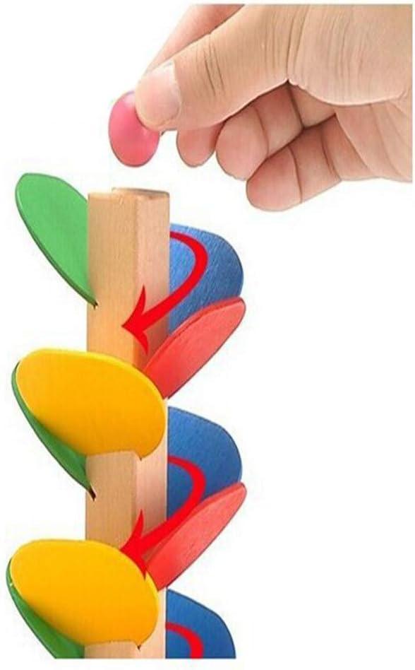 YeahiBaby Bloques de construcci/ón de Madera /Árbol Set Marble Run Juguete Bloques de construcci/ón de construcci/ón educativa Juguete para ni/ños Ni/ños