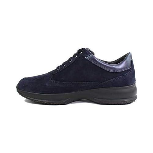 promo code ac849 88678 Imac Scarpe Donna Sneaker camoscio Blu 153817-7171/009 ...