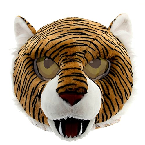 Maskimals Tiger Head Mask Large Halloween -