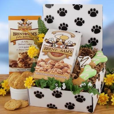 Pup and Master Gift Basket for Dog and Owner (Dog Treat Gift Baskets)