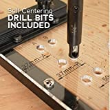 EZ Align Premium Shelf Pin Drilling Jig With