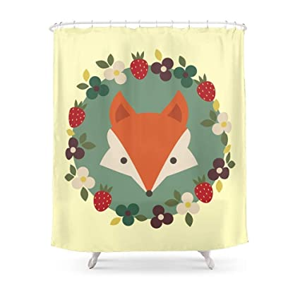 MAOXUXIN Fox Shower Curtain 60quot