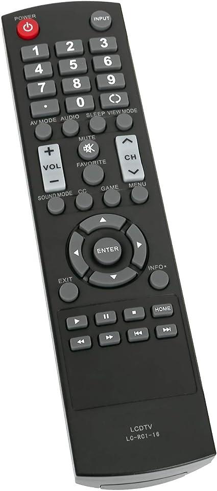 New Sharp 845-039-40B0 Remote for LC-60E69U LC-40LE433U LC-40LE431U LC-60E69 TV