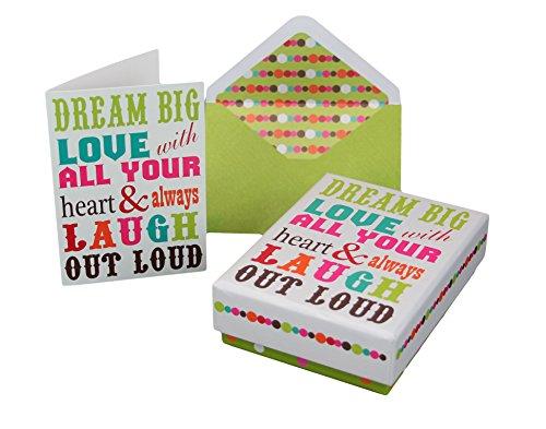 Matching Envelopes Keepsake Inspirational Greeting