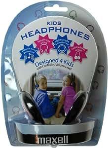 Maxell 303495 - Auriculares de diadema abiertos para niños, color azul