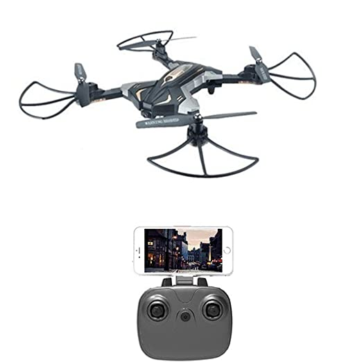 TOYENT RC Drone Plegable Quadcopter 2.4GHz 6-Axis Gyro 4CH Wifi RC ...