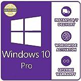 Code d'activation de licence Microsoft Windows 10 Pro / Professional 32/64 BIT