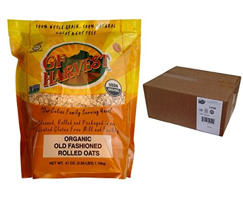 GF Harvest Gluten Free Organic Rolled Oats, 41 oz. Bag, 12 Count by GF Harvest (Image #2)