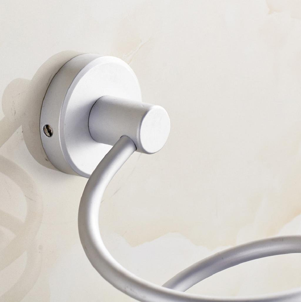 Sannysis Supporto da parete professionale per asciugacapelli  Free size argento