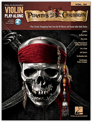 (Hal Leonard Pirates Of The Caribbean - Violin Play-Along Volume 23 Book/CD)