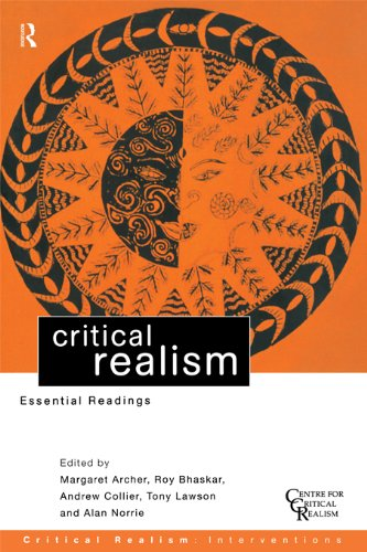 Download Critical Realism: Essential Readings (Critical Realism: Interventions) Pdf