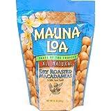 Mauna Loa Dry Roasted With Sea Salt Macadamia Nuts, 11-Ounce Package (Pack of 6) by The Hershey Company