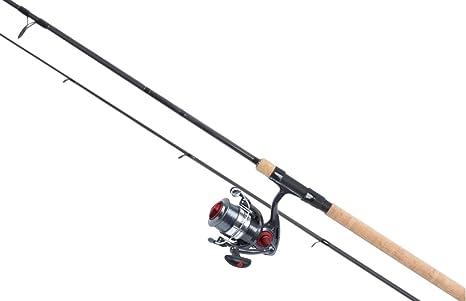 FISHZONE - Caña de pescar de calidad y carrete giratorio para todo ...