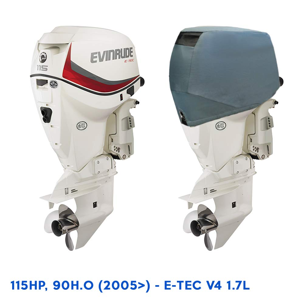 Amazon com : Oceansouth Outboard Motor Vented Cover for