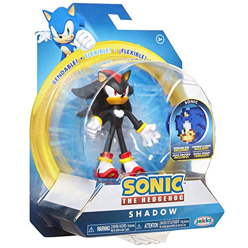 """Sonic The Hedgehog 4"""" Shadow Action Figure"""