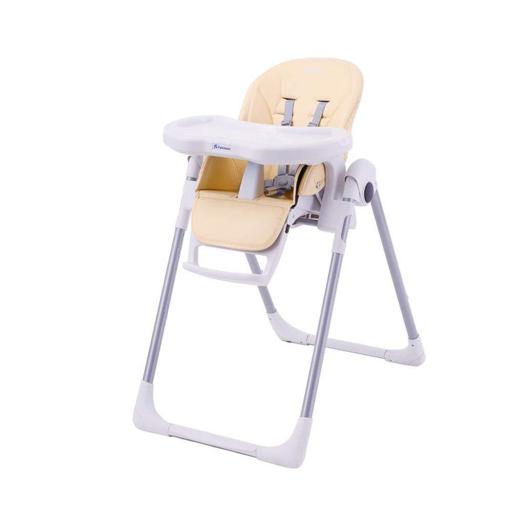 調節可能なハイチェア 赤ん坊の供給の椅子は折り畳み式の多機能を傾けます   B07M7YSKJB