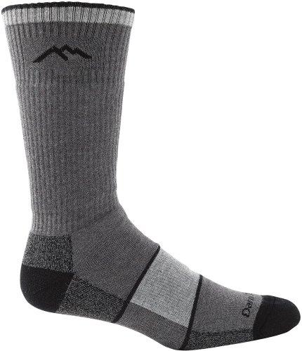 Darn Tough Hike-Trek Coolmax Boot Full Cushion Sock (Pair) - L Charcoal