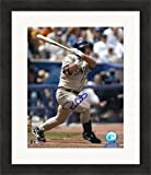 Autographed Brian Giles Photograph - 8x10) #1 Matted & Framed - Autographed MLB Photos