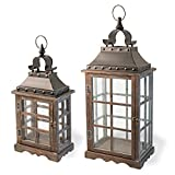Boston International Decorative Lanterns, Set of 2, Medieval Mercer